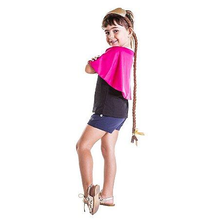 Camiseta Infantil Princesa do Gelo