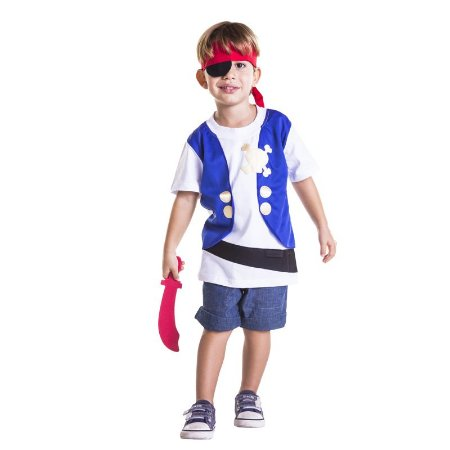Camiseta Infantil Pirata