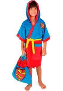 Roupão Super Homem