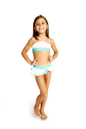 Biquini Infantil Rainha do Gelo