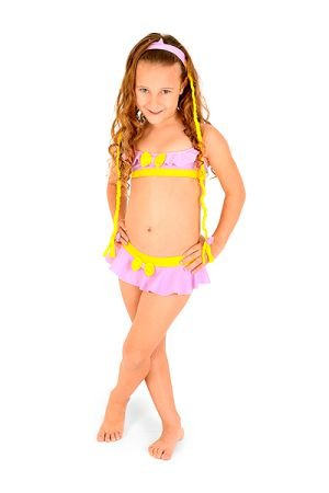 Biquini Infantil Princesa de Trança