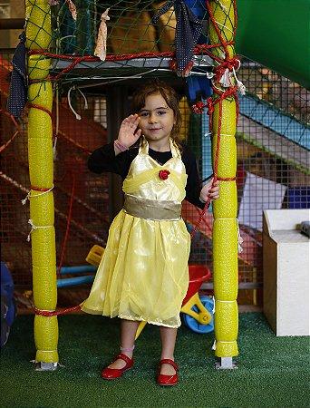 Vestido Infantil Avental Bela