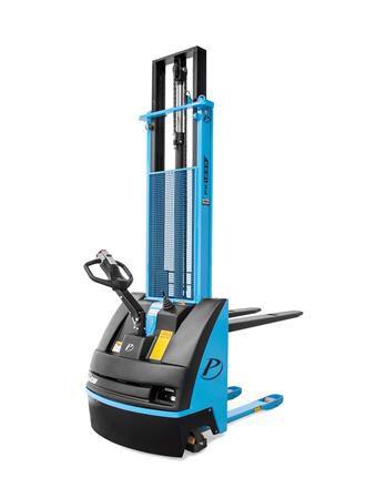 Empilhadeira Elétrica Tracionária - Modelo PX1225 - Capacidade de carga: 1200 kg - Elevação maxima: 2500 mm - Elétrica