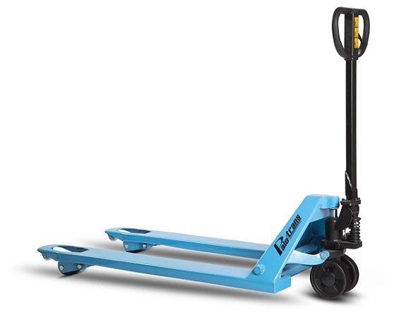 Paleteira manual 2.500Kg com roda simples em poliuretano - TM 2500 SP