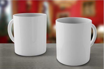 Caneca Ceramica Branca Personalizável