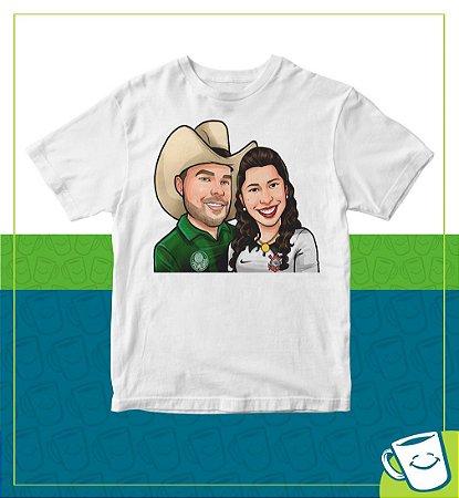 Camiseta - 2 pessoas