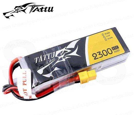 Bateria Gens Tattu 2300mah 11.1v 45C
