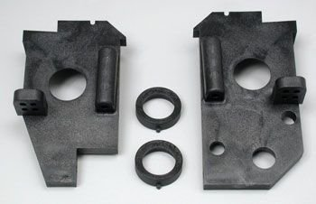 Side plates rear left /right Nitro 4 Tec 3.3 (N6C) 4824