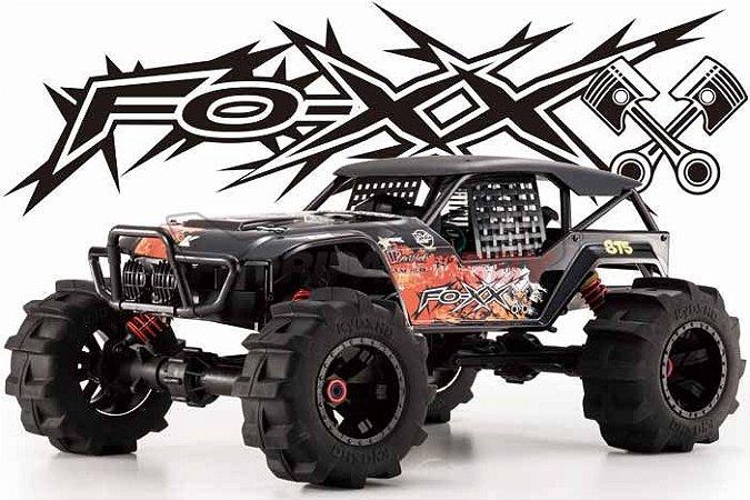 Automodelo Foxx Nitro com KE .25