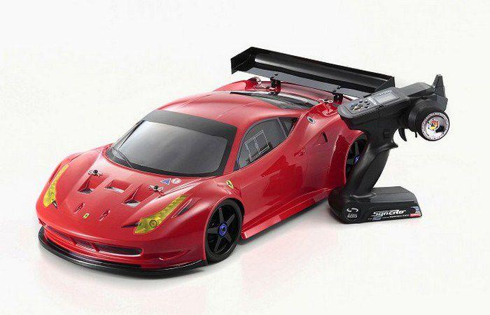 Automodelo Kyosho Inferno GT2 VE Ferrari 458 Itália