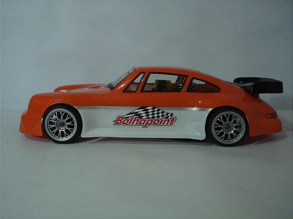 Bolha Porche 911 Para Automodelos On-Road Sem Pintura