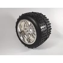 Par de Rodas Off Road Monster Cromadas