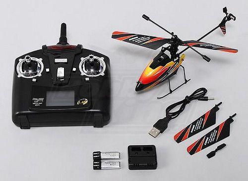Mini Helicóptero V911 4 Canais