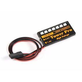 Medidor de Tensão de Bateria de LiPo ou LiFe