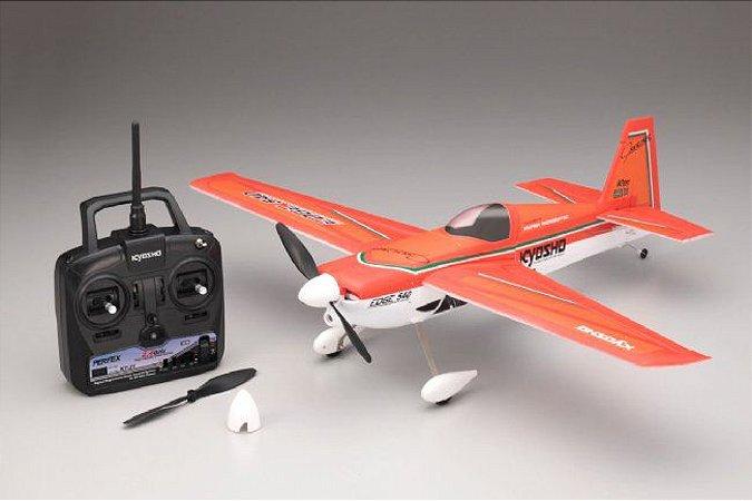 Aeromodelo Airium Edge 540 Readyset Vermelho - Kyosho