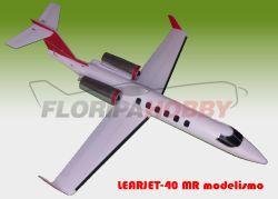 Aeromodelo Learjet-40 MR modelismo