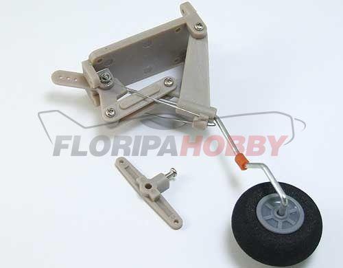 Bequilha traseira retrátil com roda de 28mm OR025