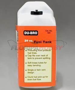 Tanque de combustivel quadrado 24 Oz DUB424