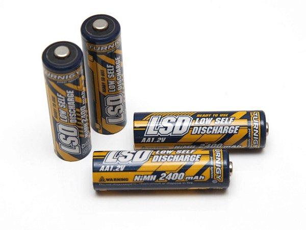 Bateria Lsd AA NI-MH 2400 Mah 1.2 v