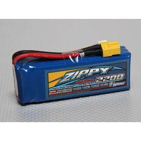 Bateria Lipo 2200mah Zippy 5S 40C
