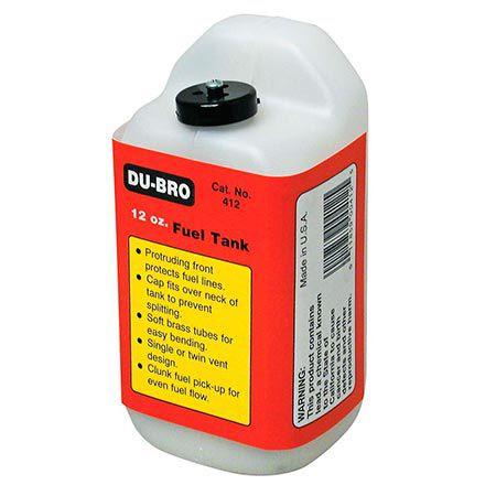 Tanque de Combustível Quadrado 12 OZ Du-Bro DUB412