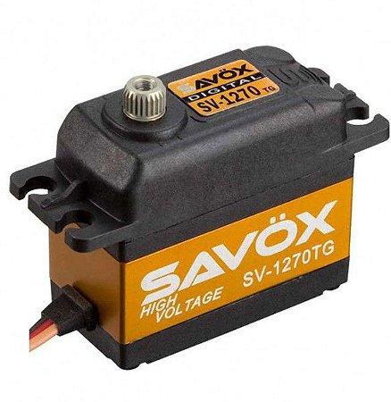 SERVO DIGITAL SAVOX - SV-1270TG HV 7.4v