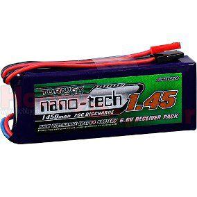 Bateria de Life 1450mah 6.6v 20C - NanoTech