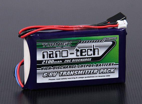 Bateria de Life 2100mah 6.6v 20C - NanoTech