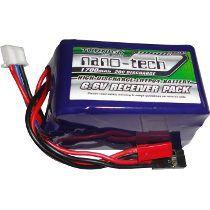 Bateria de Life 1700mah 6.6v 20C - NanoTech