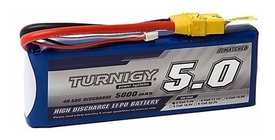 Bateria de Li-Po 5000mah 7,4v 40-50C Turnigy