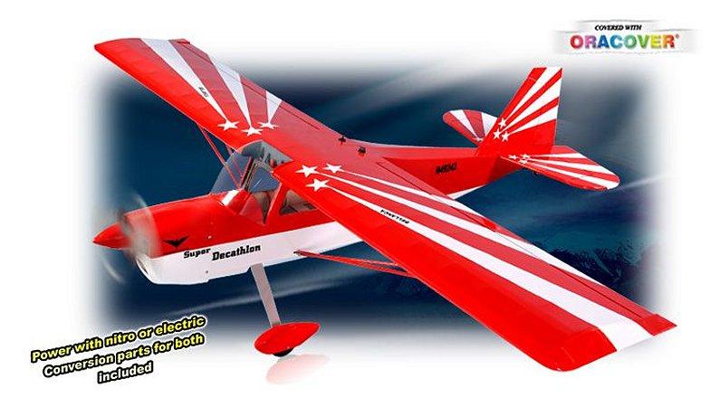 Aeromodelo Decathlon MK2 GP/EP 46-55 - 1/6 - ARF Phoenix Models
