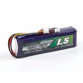 Bateria de Li-Fe 1500mah 9.9v Nano-Tech 1C para TX