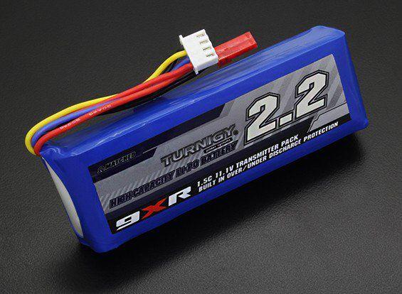 Bateria de Li-Po 2200mah 11.1v Turnigy para TX 1.5C