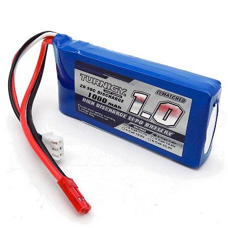 Bateria de Li-Po 1.000mah 7.4v 20-30C Turnigy