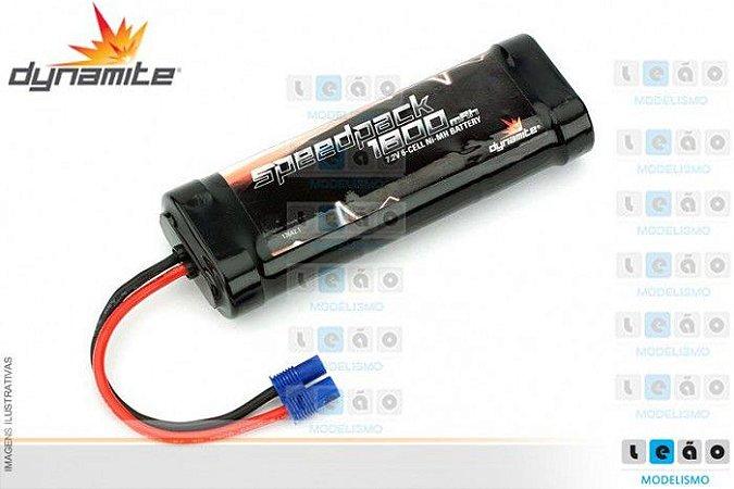 Bateria de Ni-MH Speedpack 1800mAh 6-Cell Flat