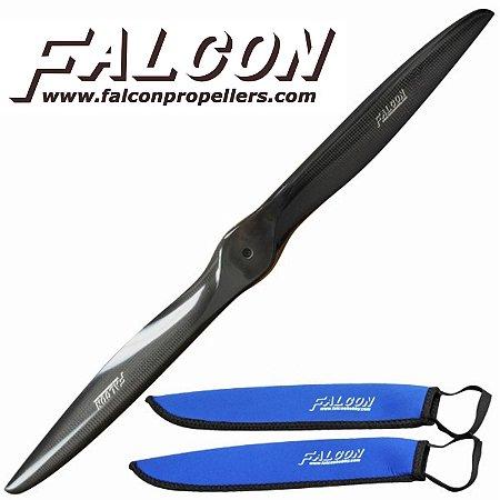 Hélice Falcon em Fibra de Carbono 22x10