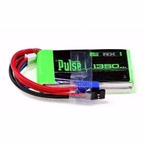 Bateria de Lipo Pulse 1350mah 7.4v 2S 15C p/X