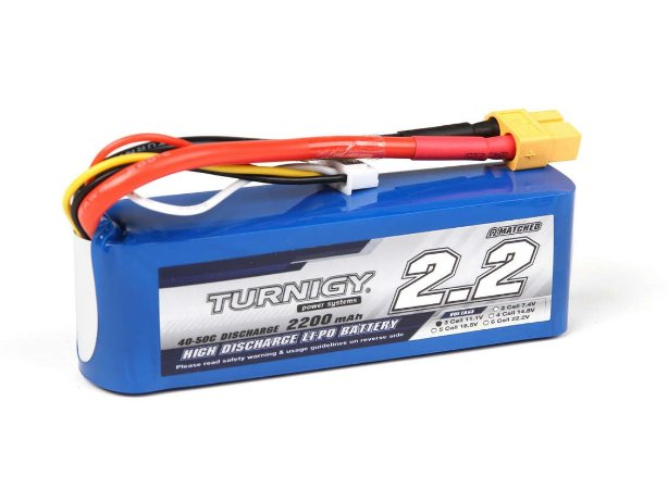 Bateria de Li-Po 2200mah 11.1v 25C Turnigy