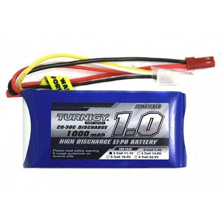 Bateria de Lipo 11.1v 1000mah 20C Turnigy