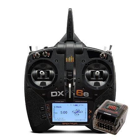 Rádio Spektrum DX6e 6 canais com receptor AR620