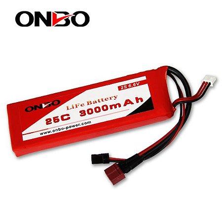 Bateria LIFE Onbo Power 3000mah 6.6v 25C