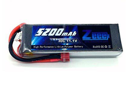 Bateria Lipo - 11.1v 3S - 5200mah 30C - ZEEPOWER