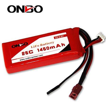 Bateria LIFE Onbo Power 1450mah 6.6v 25C