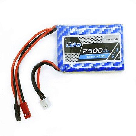 Bateria Lipo 7.4V 2S 8C 2500mAh - RX