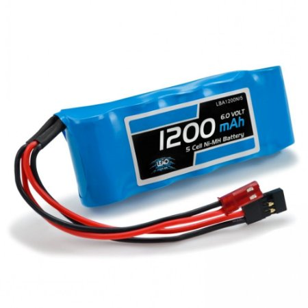 Bateria NIMH 6V 1200mAh - FLAT - JST Futaba (RX)