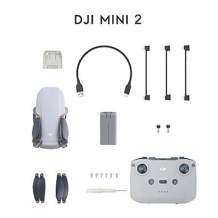 Drone Dji Mini 2 C/ Camera 4k Zoom 4x