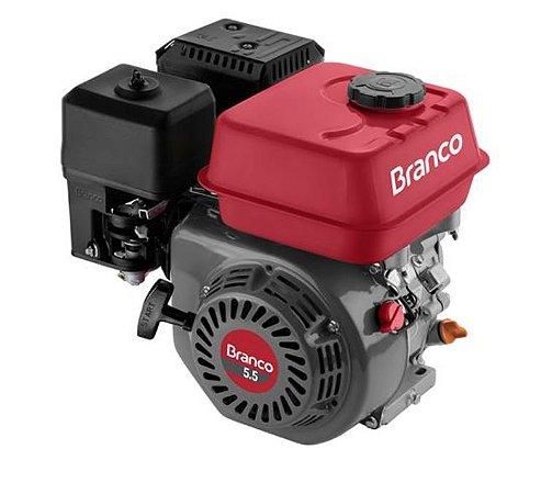 Motor A Gasolina Branco B4T5.5H 5.5Cv 163cc Partida Manual