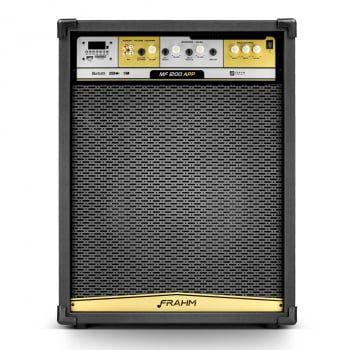 Caixa de Som Amplificada Multiuso Frahm - MF 1200 APP Bluetooth 900W