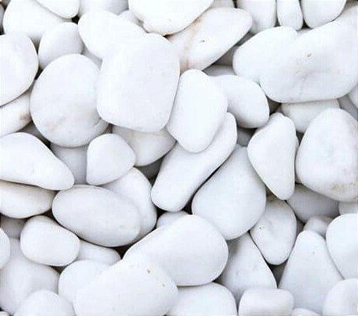 Pedra Dolomita  Branca 25kg - Nº 3 - Jardins Vasos