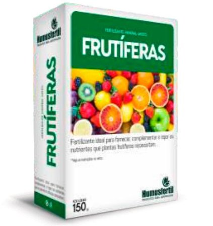 Adubo Fertilizante Mineral Frutífera 150 G (solúvel Em Água) Humusfértil